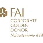FAI Corporate Golden Donor Badge