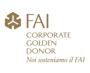 FAI Corporate Golden Donor Badge