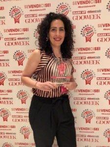 Angeloni ritira il premio GDO Week 2019